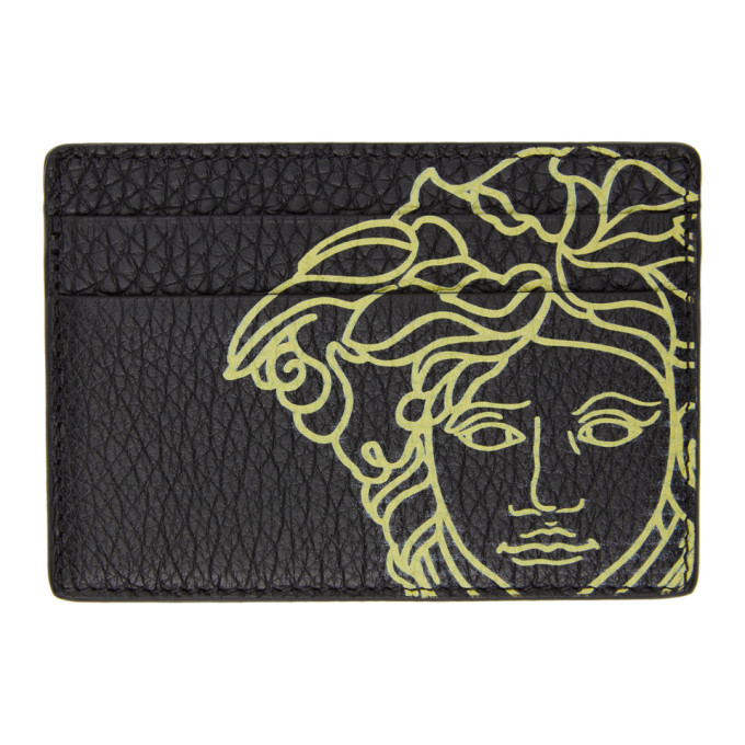 Photo: Versace Black Pop Medusa Card Holder