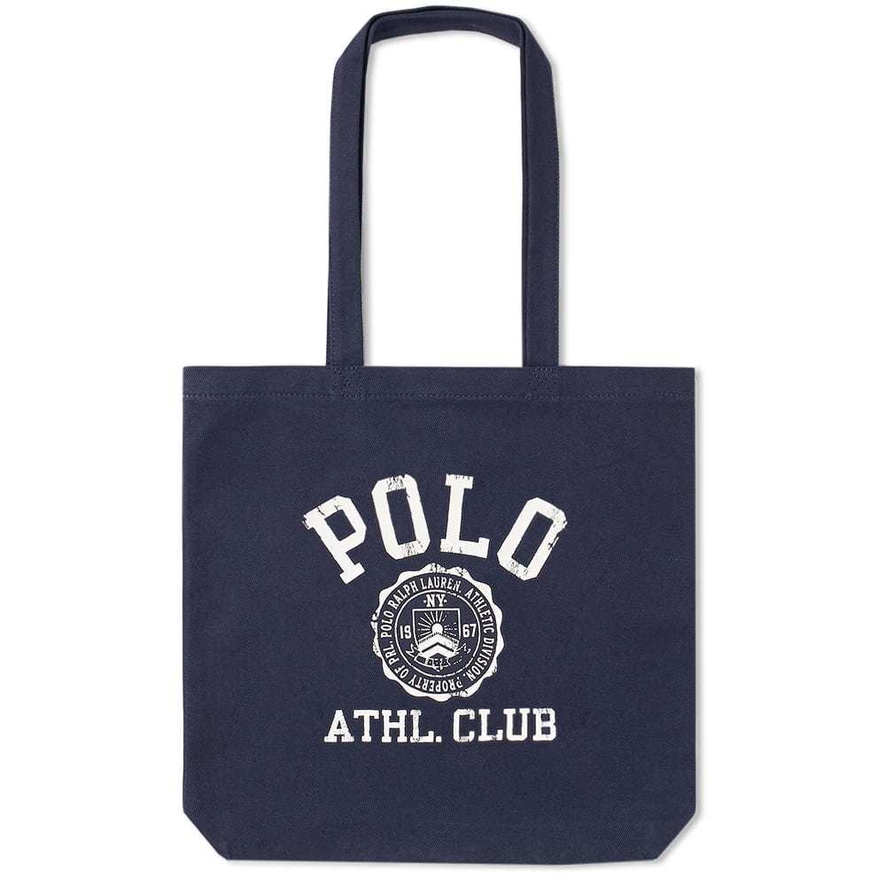 39322b227132 Polo Ralph Lauren Logo Canvas Tote Bag Polo Ralph Lauren