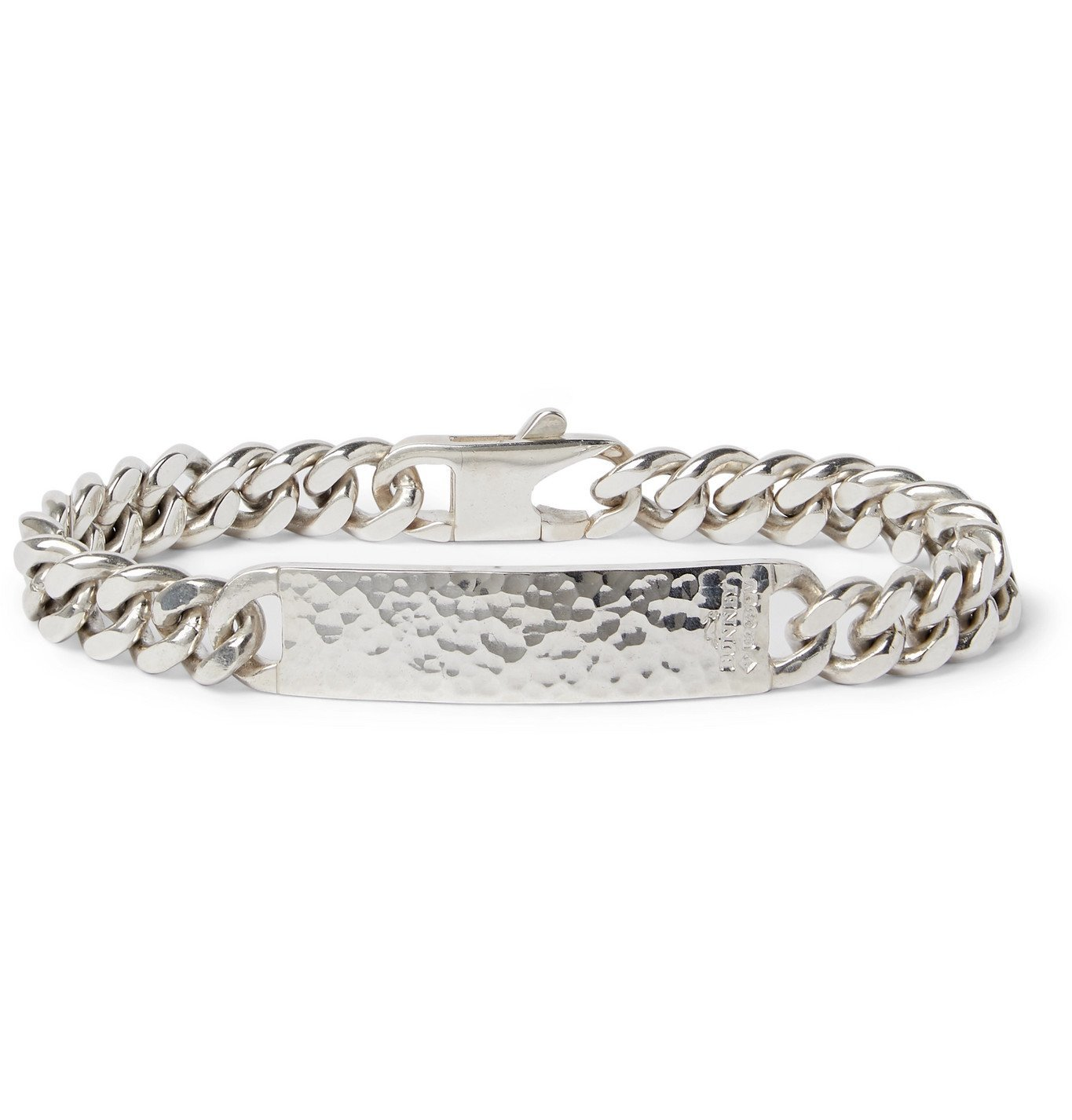 Photo: Bunney - Sterling Silver ID Bracelet - Silver