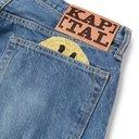 KAPITAL - Slim-Fit Embroidered Denim Jeans - Blue