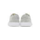 Common Projects Grey Suede Original Achilles Low Sneakers