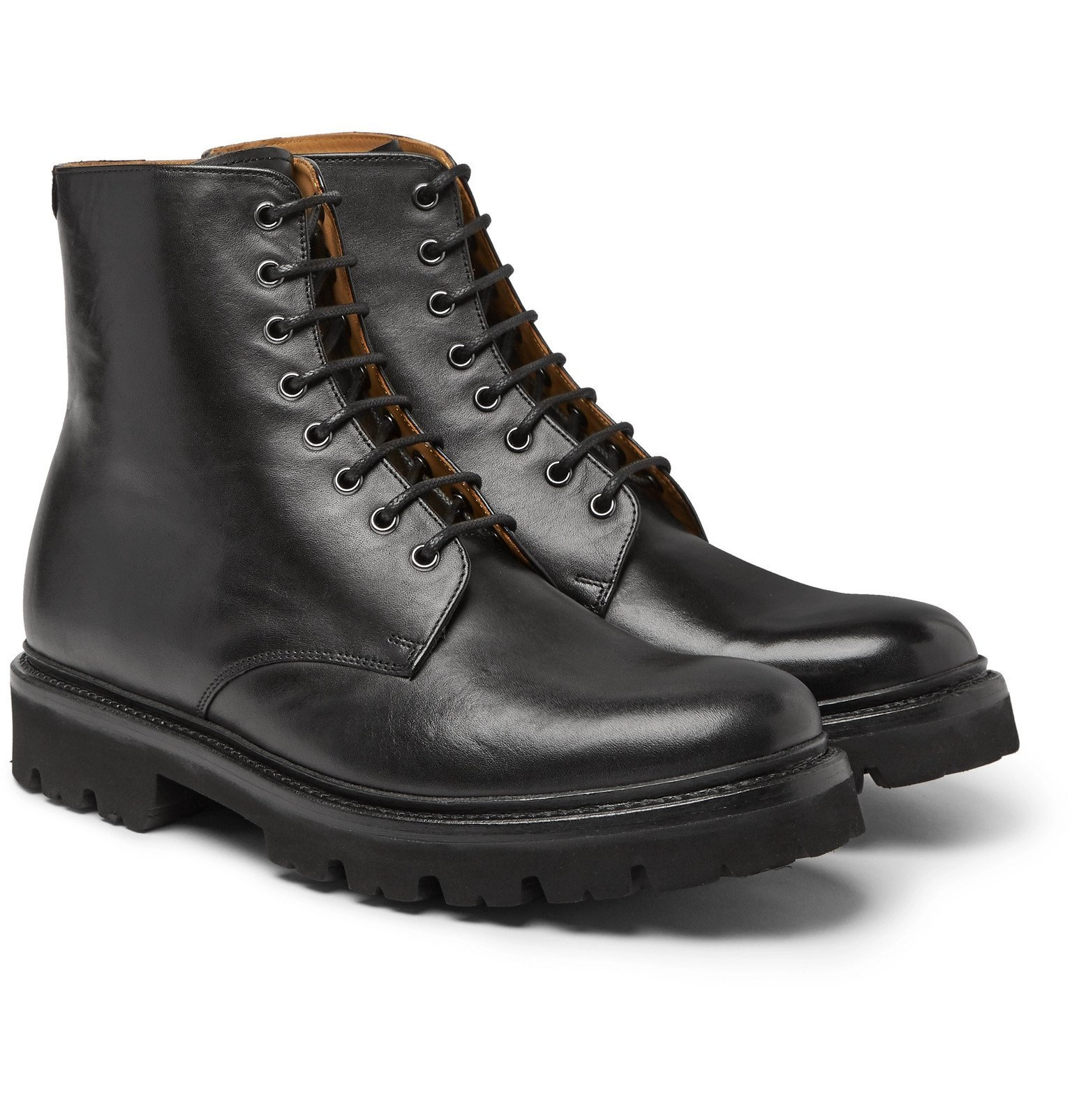 Photo: Grenson - Hadley Leather Boots - Black