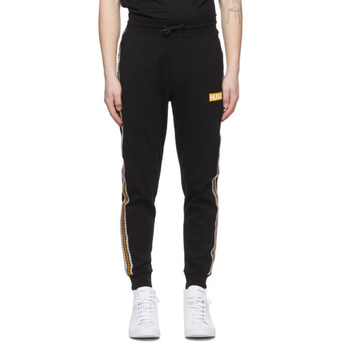 Hugo Black Donburi Lounge Pants