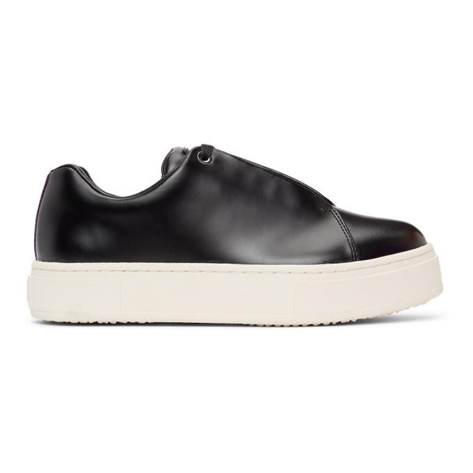 Photo: Eytys Black Doja Platform Sneakers