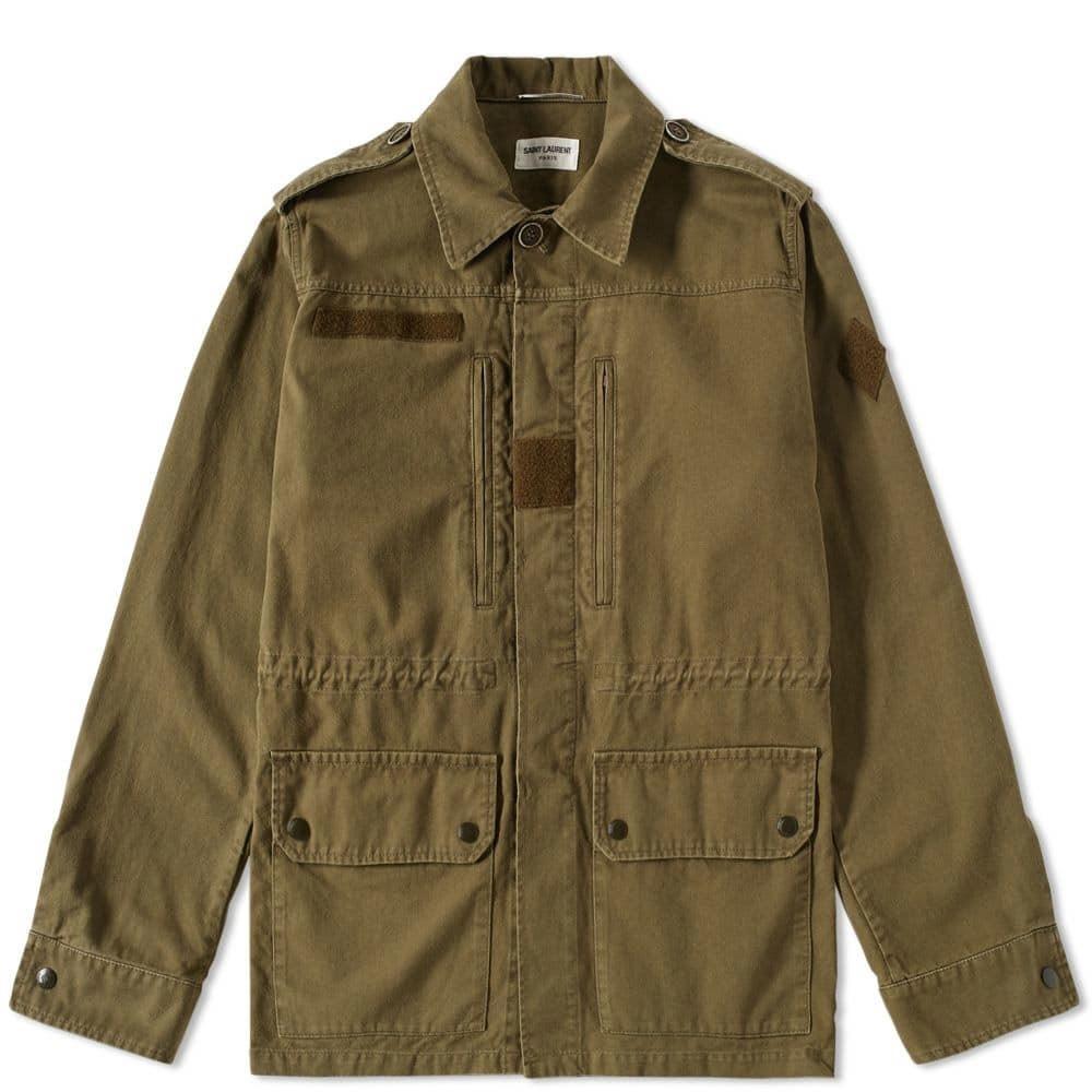 Photo: Saint Laurent Military Jacket