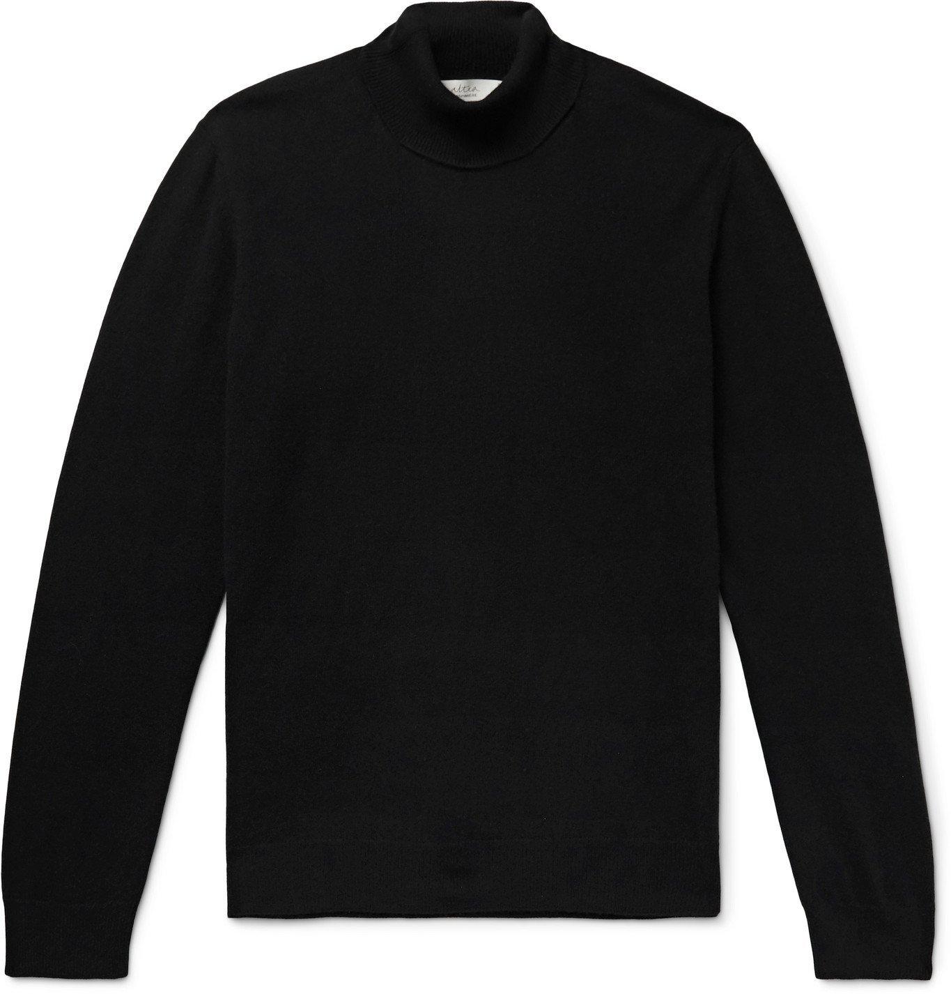 Photo: Altea - Cashmere Rollneck Sweater - Black