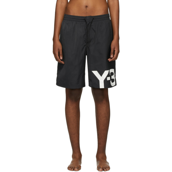 Photo: Y-3 Black Logo Swimsuit