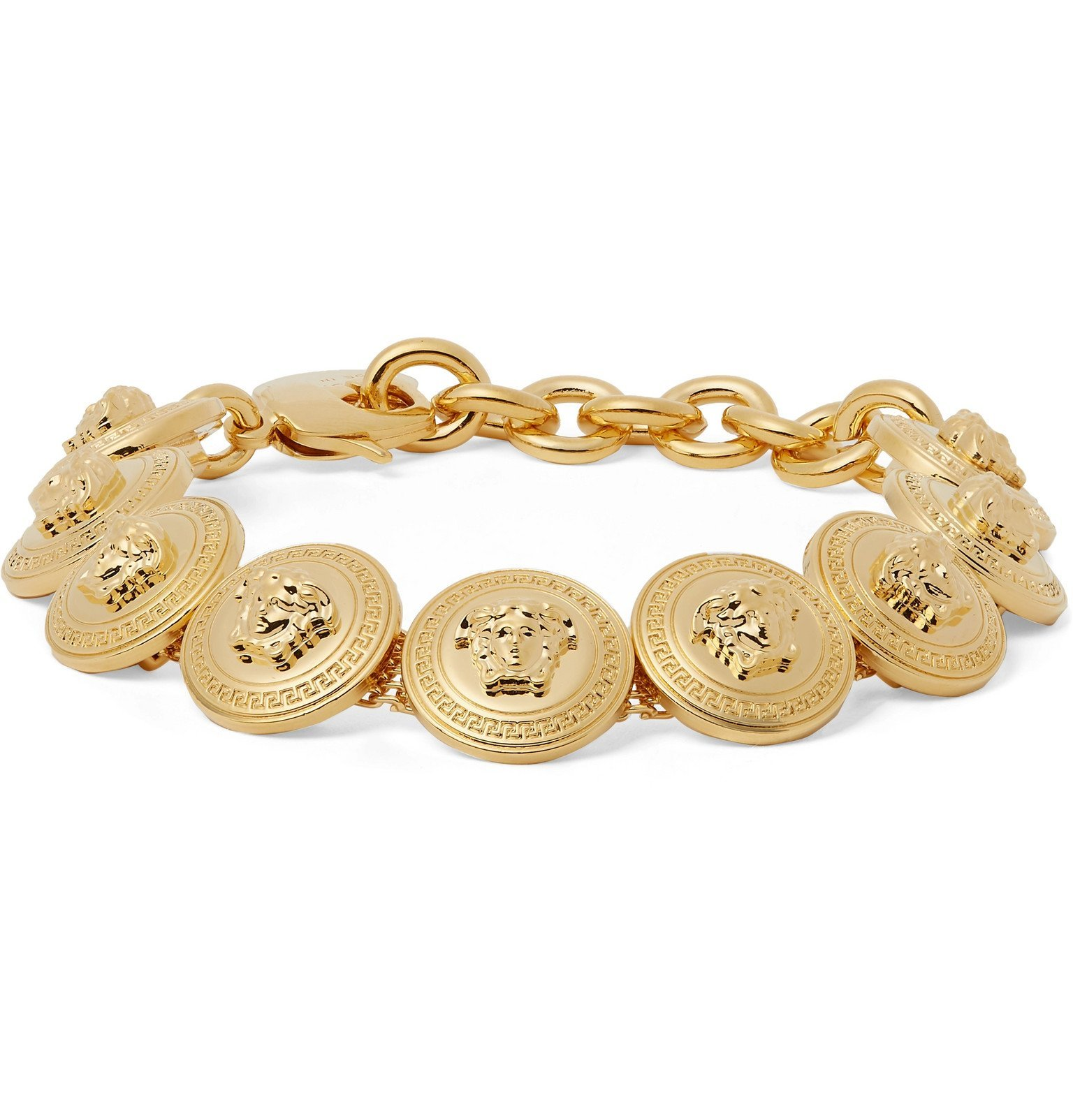 Photo: Versace - Gold-Tone Bracelet - Gold