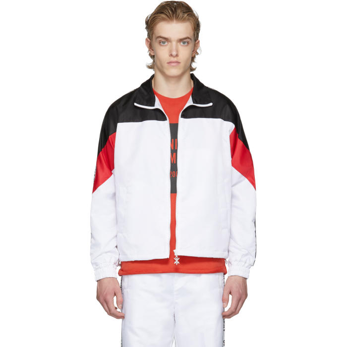 Photo: Opening Ceremony White and Black Limited Edition Warm Up Jacket