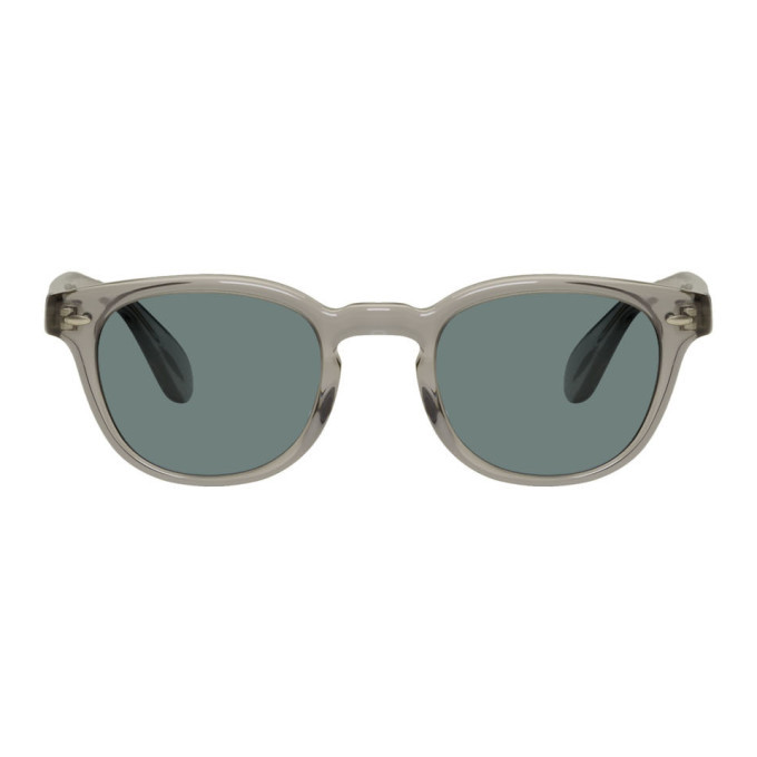 Photo: Oliver Peoples Grey Sheldrake Sunglasses