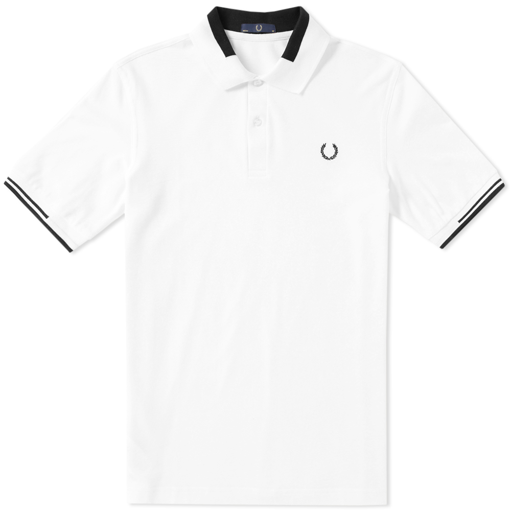 Photo: Fred Perry x Laurel Wreath Graphic Collar Polo