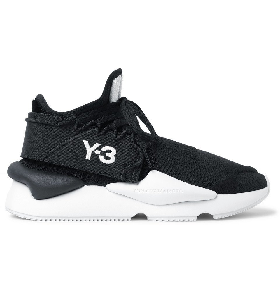 Photo: Y-3 - Kaiwa Mesh Sneakers - Black