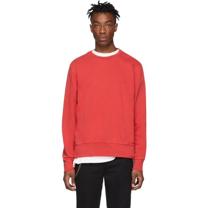 Photo: Ksubi Red Seeing Lines Sweatshirt