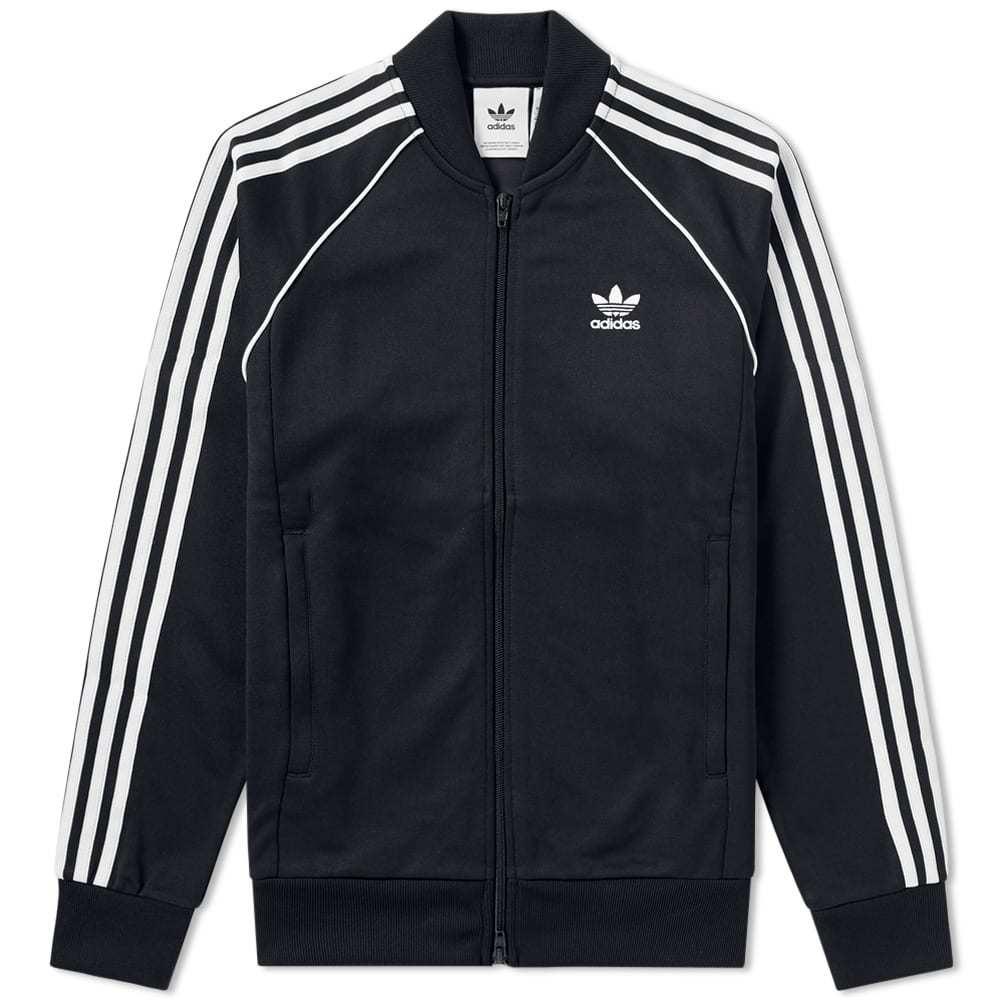 Adidas Superstar Track Top Black