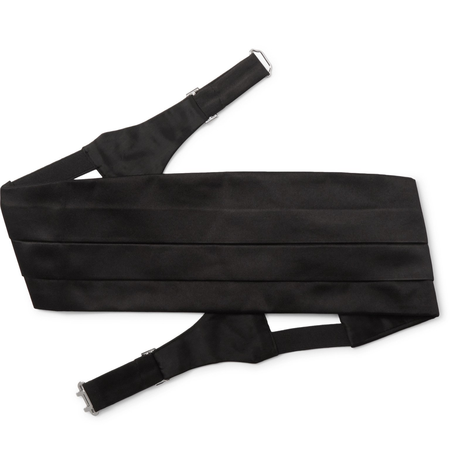 Giorgio Armani - Silk-Satin Cummerbund - Black