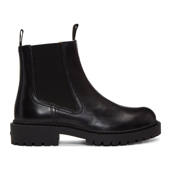 Photo: Kenzo Black Pike Chelsea Boots