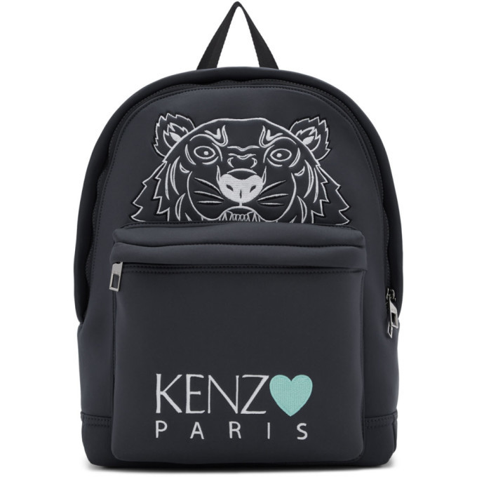 Photo: Kenzo Grey Limited Edition Tiger Backpack