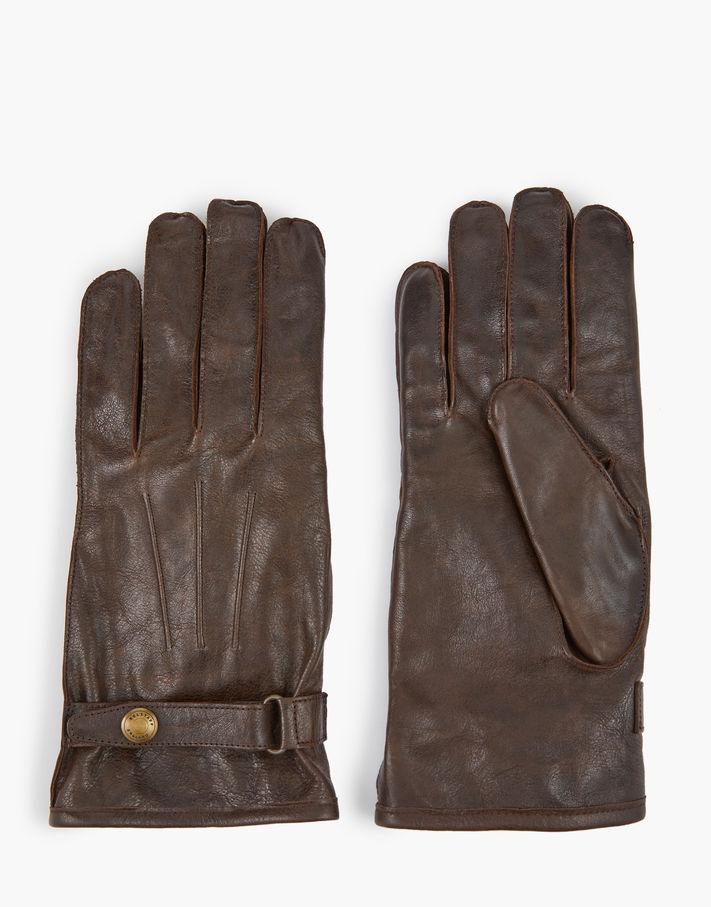 Belstaff Heyford Gloves Brown