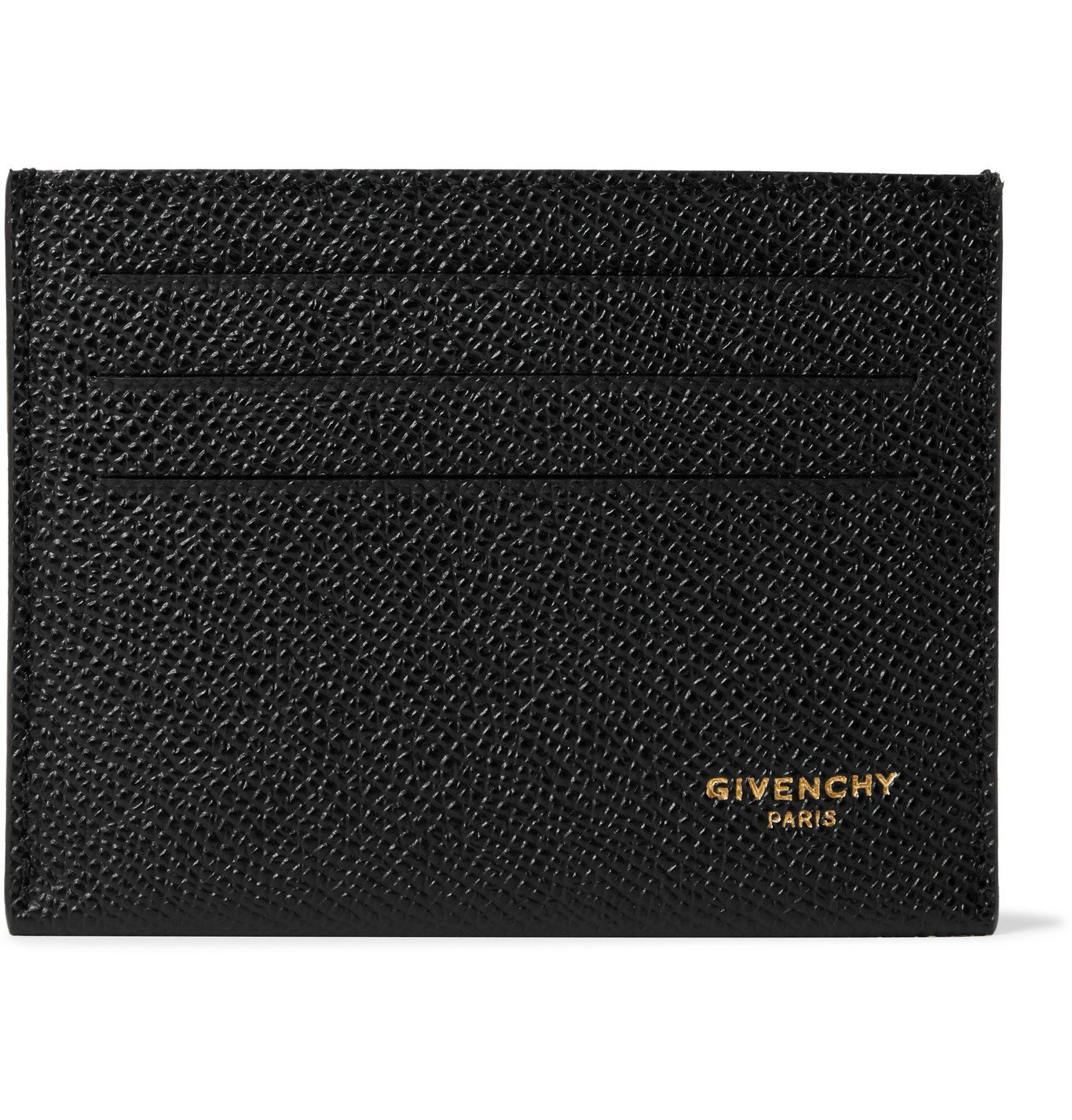 Photo: Givenchy - Full-Grain Leather Cardholder - Black