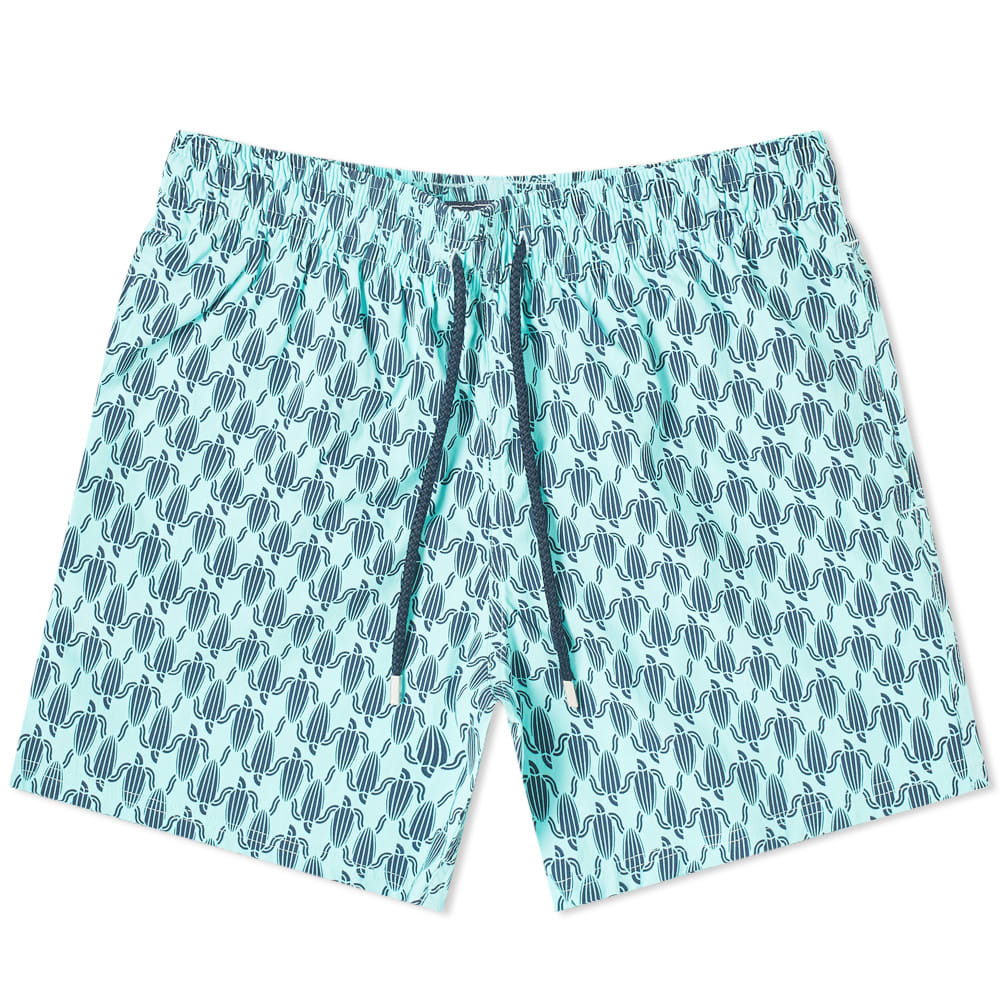 Photo: Vilebrequin Moorise Repeat Print Turtle Swim Short