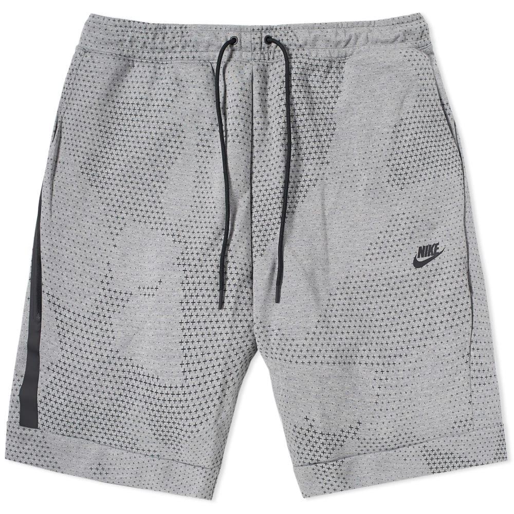 nike tech fleece shorts white