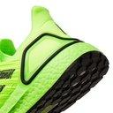 Adidas Sport - UltraBOOST 20 Rubber-Trimmed Primeknit Running Sneakers - Yellow