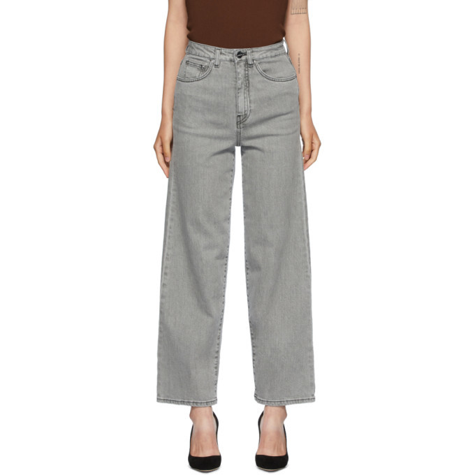 Photo: Toteme Grey Flair Jeans