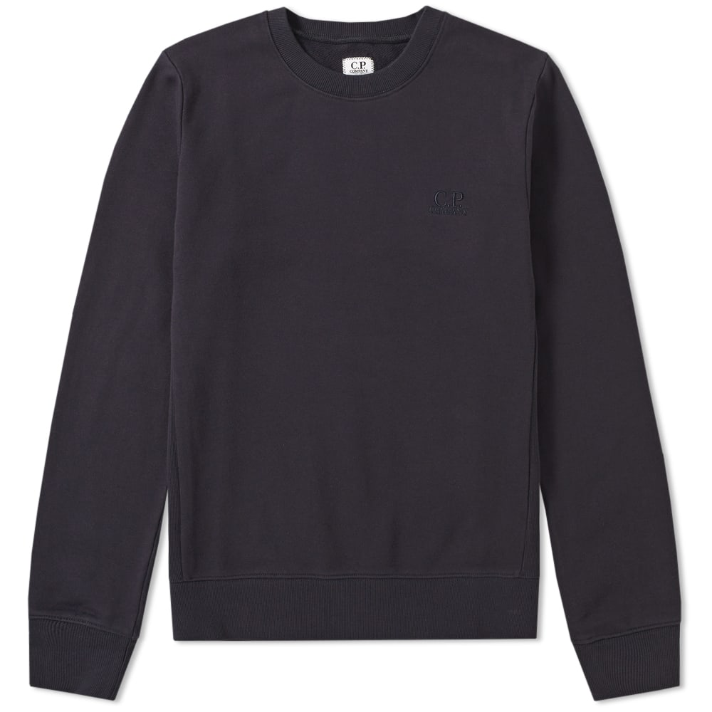 C.P. Company Embroidered Logo Crew Sweat