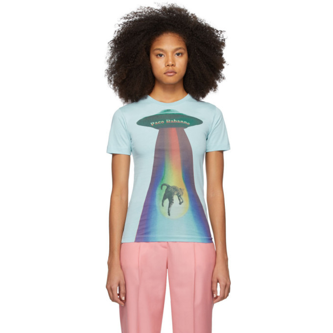 Photo: Paco Rabanne Blue Alien T-Shirt