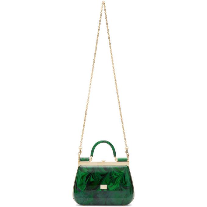 Photo: Dolce and Gabbana Green Sicily Box Bag