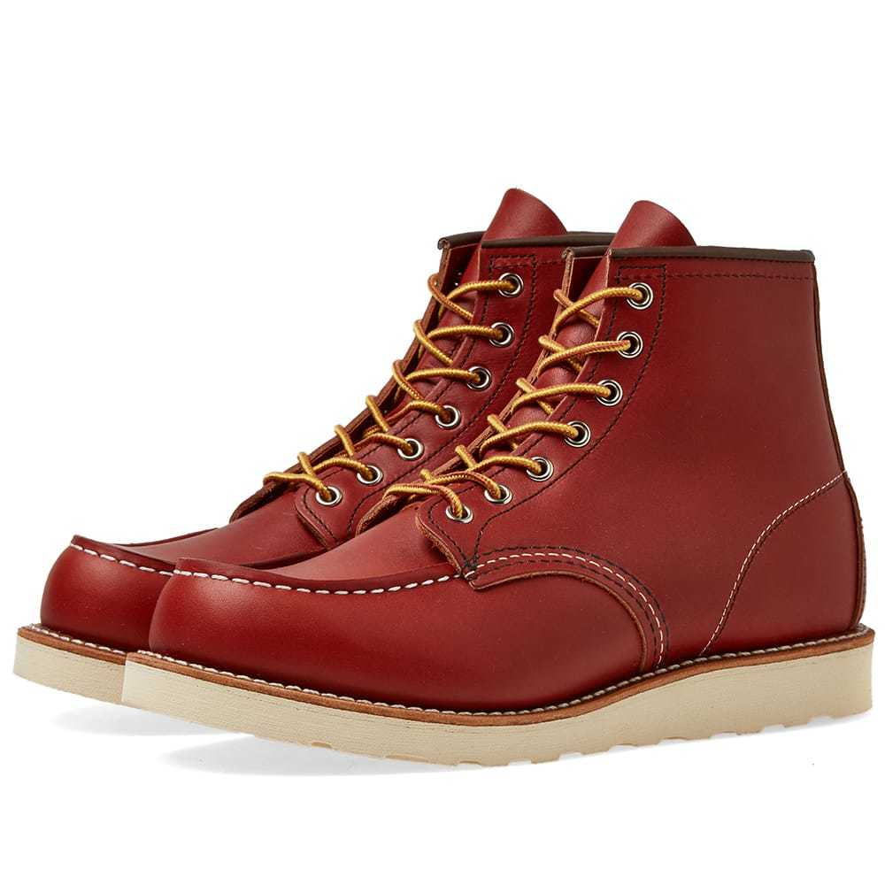 "Photo: Red Wing 8131 Heritage Work 6"" Moc Toe Boot Oro-Russet Portage"