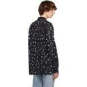 Ksubi Black Graphic Goth Star Shirt