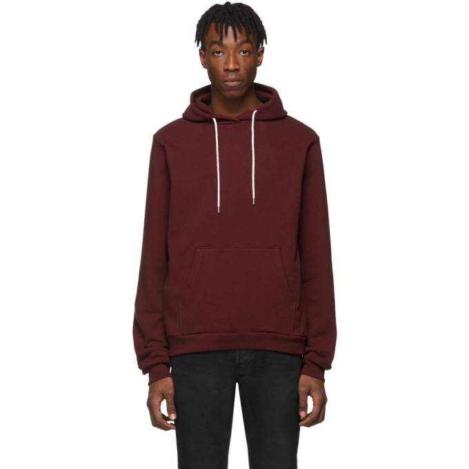 Photo: John Elliott Burgundy Beach Hoodie