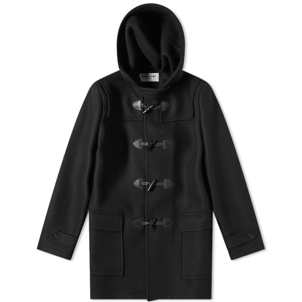 Photo: Saint Laurent Duffle Coat