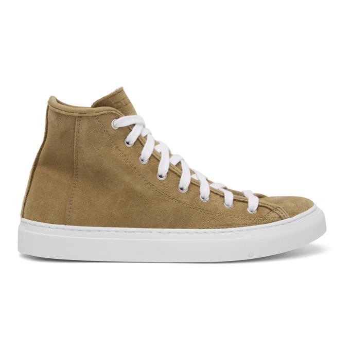 Photo: Diemme Beige Suede Veneto Alto Sneakers