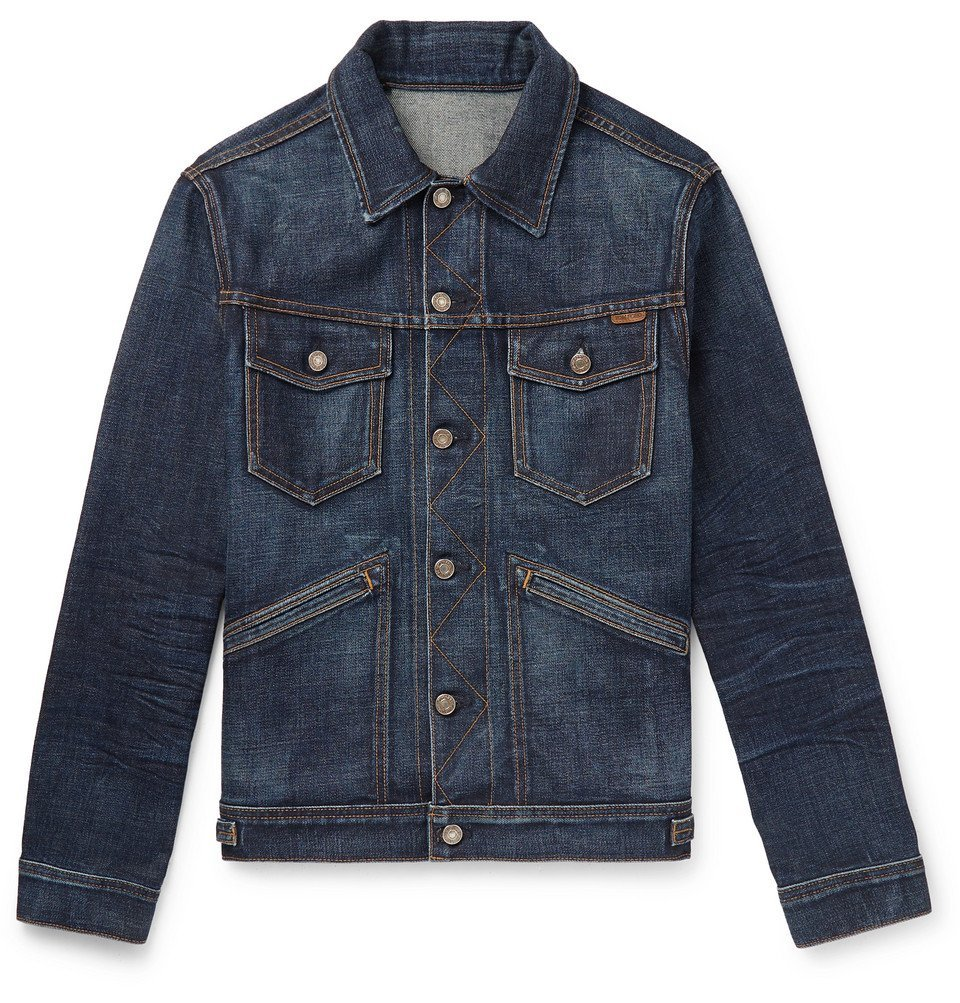 Photo: TOM FORD - Denim Jacket - Dark denim