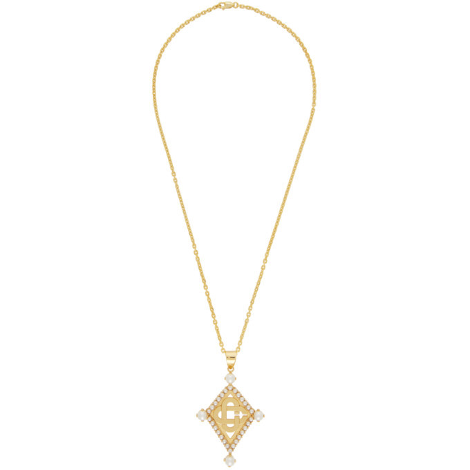Photo: Casablanca Gold O Thongthai Edition Pearl Pendant Necklace
