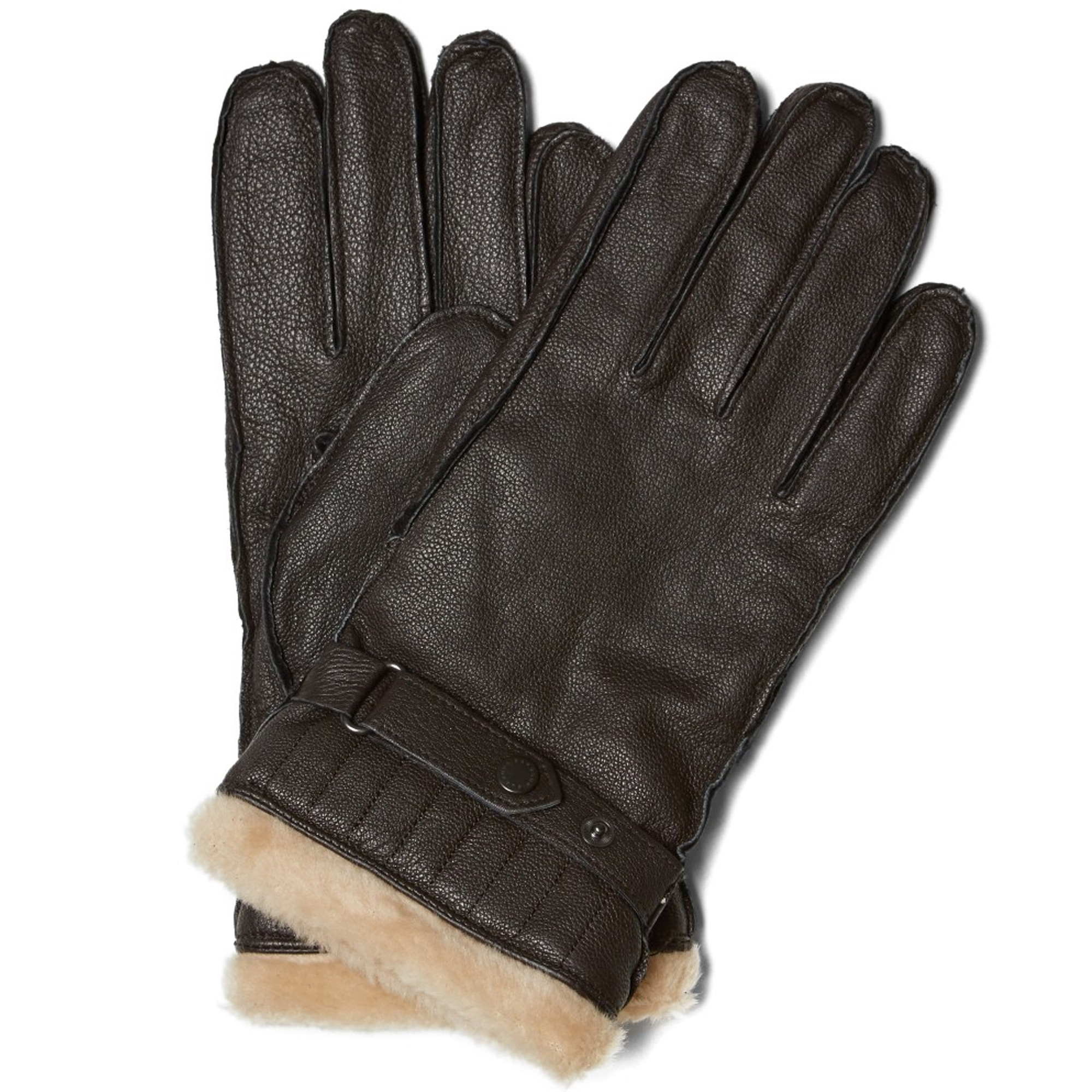 Photo: Barbour Leather Utility Glove