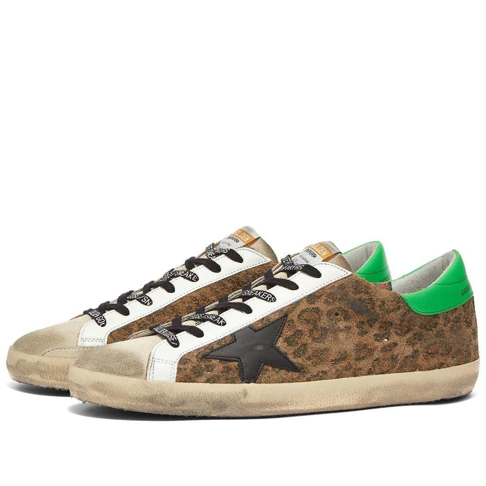 Photo: Golden Goose Super-Star Leopard Suede Sneaker
