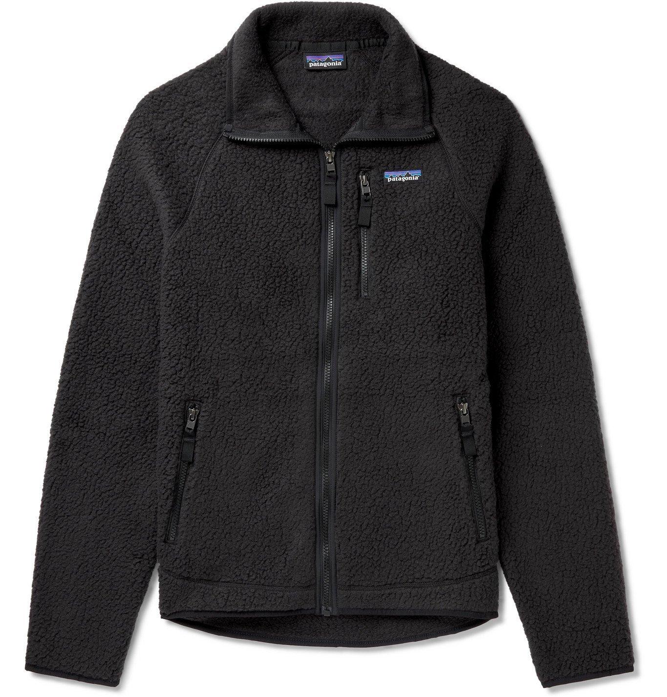 Photo: PATAGONIA - Retro Pile Fleece Jacket - Black