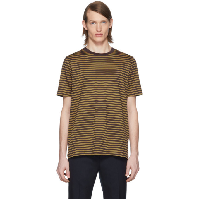 Photo: Marni Three-Pack Tricolor Striped T-Shirt