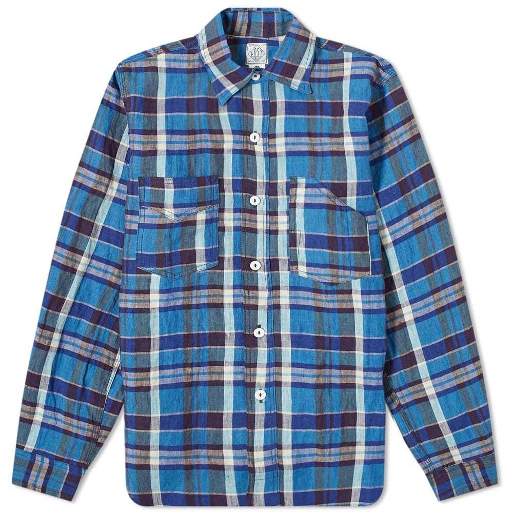 Photo: Post Overalls Linen Plain Shirt