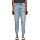 Ksubi Blue Skream Trashed Bullet Jeans
