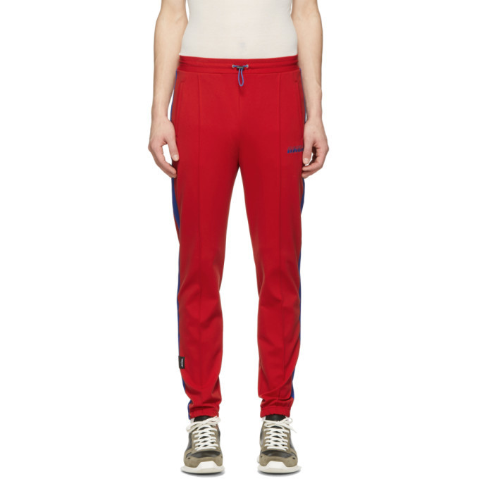 Photo: Unravel Red Jersey Track Lounge Pants