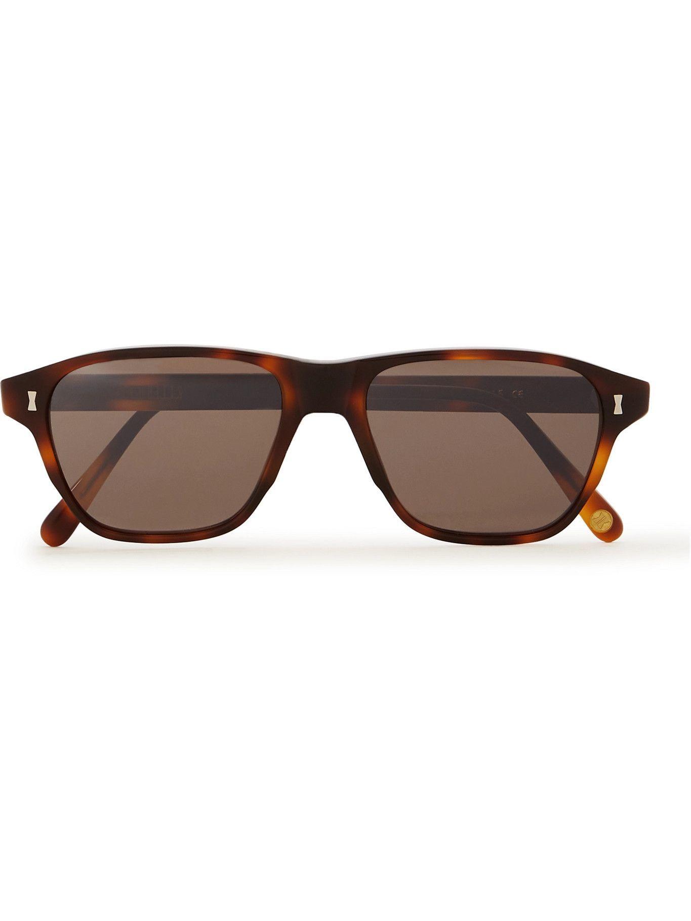 CUBITTS - Chalton Square-Frame Tortoiseshell Acetate Sunglasses