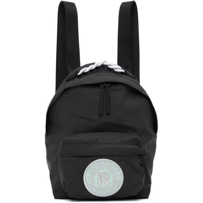 Photo: Raf Simons Black Eastpak Edition Pakr Backpack