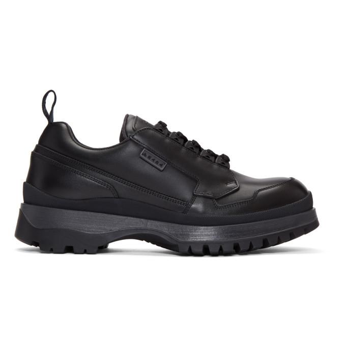 Photo: Prada Black Allaciate Sneakers