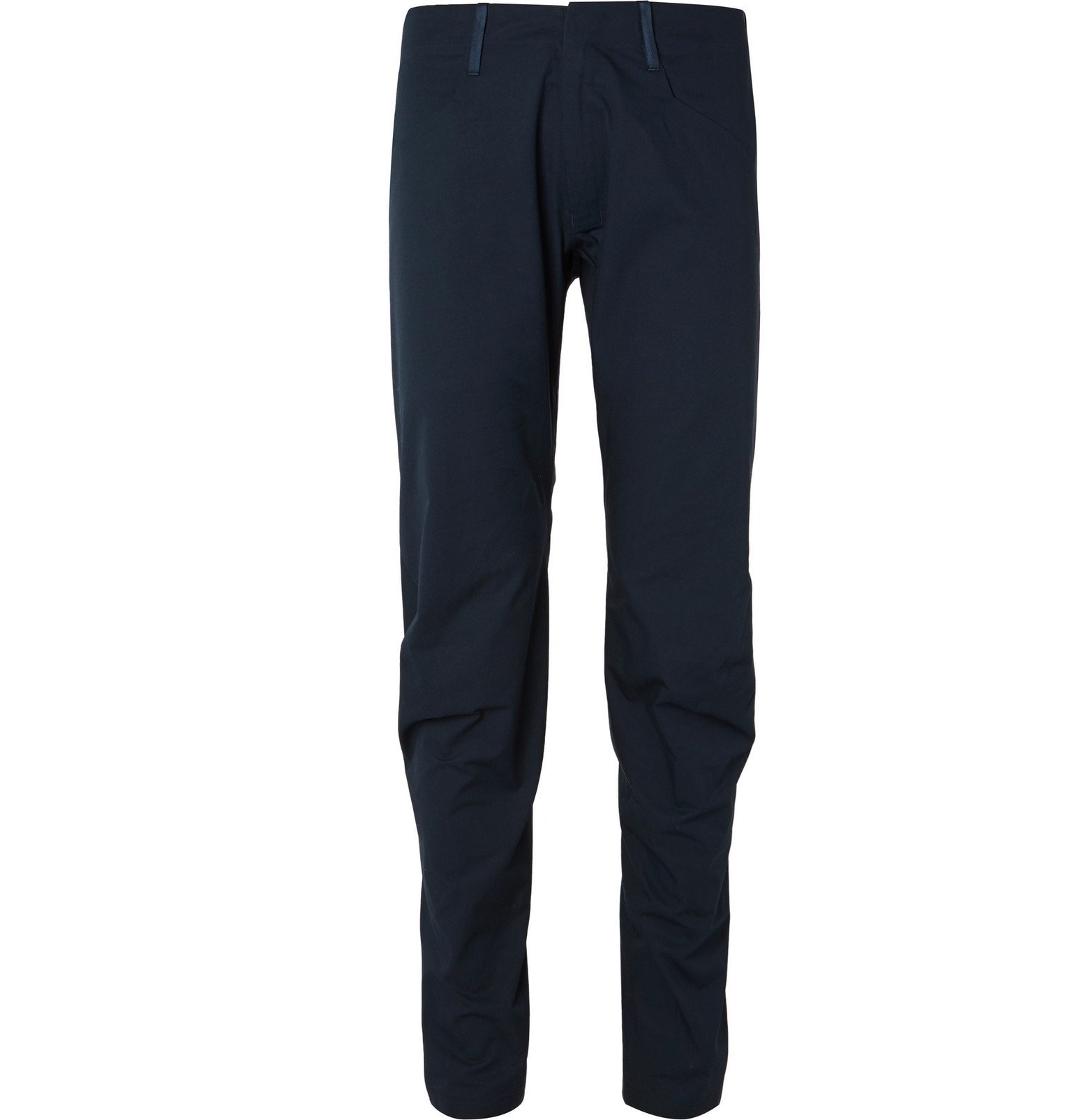 Photo: Arc'teryx Veilance - Black Voronoi Tapered Cotton-Blend Trousers - Blue