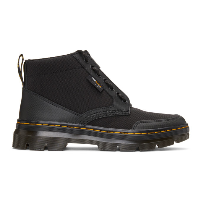Photo: Dr. Martens Black Bonny Tech Jungle Boots