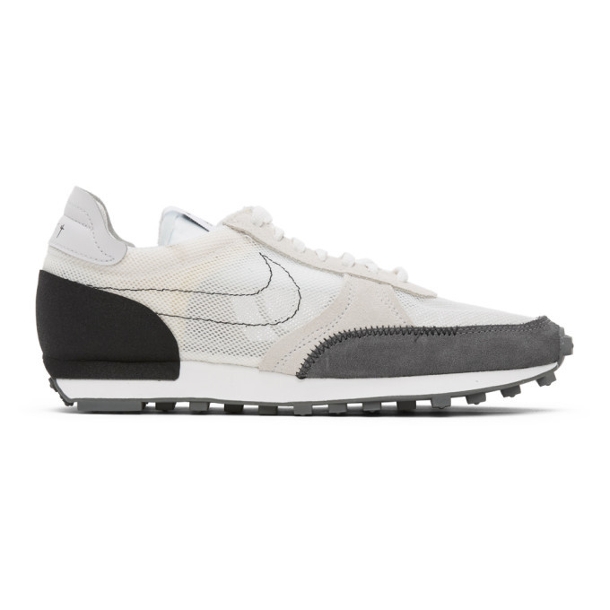 Photo: Nike White and Black Daybreak Type Sneakers